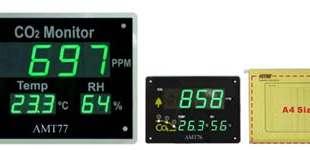 Alat Monitor Gas CO2 Dalam Ruangan AMT76 AMT77