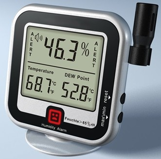Thermometer With Humidity Meter & Dew Meter AMT-123